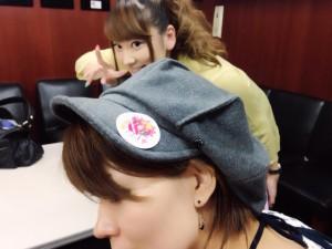 帽子に注目